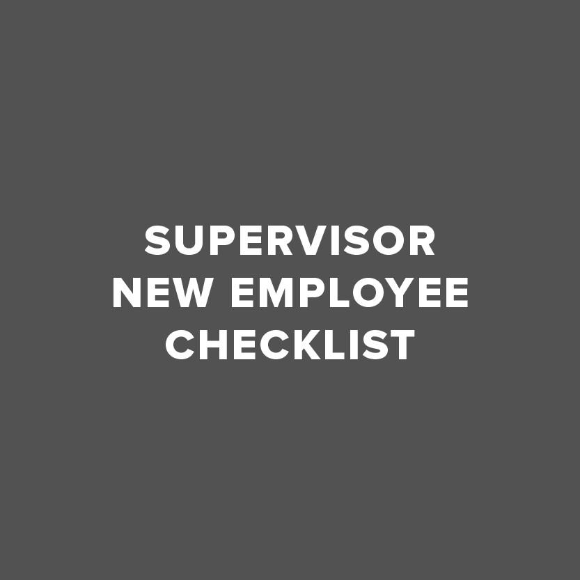Icon for supervisor checklist